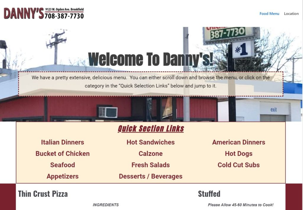 Danny's Pizza & Beef