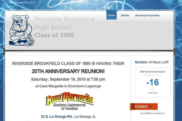 Riverside Brookfield High School Reunion